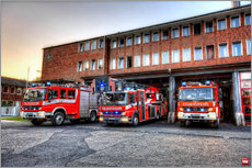 Gallery print  Fire station in Germany - Markus Will