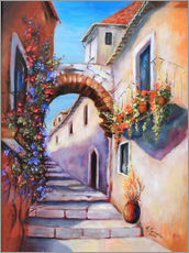 Wall sticker  Mediterranean alley - Marita Zacharias