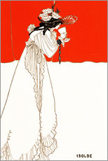 Wall sticker  Isolde - Aubrey Vincent Beardsley