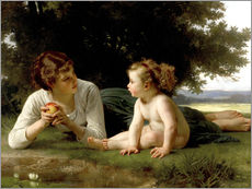 Gallery print  Temptation - William Adolphe Bouguereau