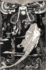 Wall sticker  The Little Mermaid - Harry Clarke