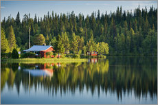 Wall sticker  Summer in Lapland - Rainer Mirau