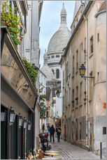 Wall Stickers  Streets of Montmartre Paris - Fine Art Images