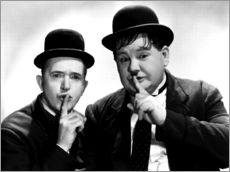 Wall sticker  Laurel & Hardy
