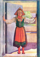 Wall sticker  Rosalind - Carl Larsson