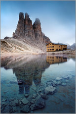Gallery print  Vajolet towers in the Dolomites - Matteo Colombo