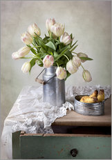 Gallery Print  Still life with tulips - Nailia Schwarz
