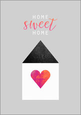 Gallery print  Home Sweet Home - Elisabeth Fredriksson