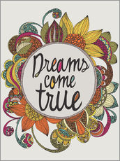 Wall Stickers  dreams come true - Valentina Ramos