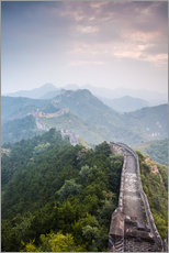 Wall sticker  Great Wall of China in fog - Matteo Colombo