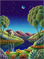 Gallery print  Blue Moon Rising - Andy Russell