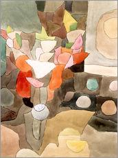 Wall Stickers  Gladiolus Still Life - Paul Klee