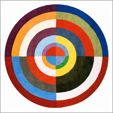 Gallery print  First Disk - Robert Delaunay