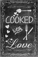 Wall Stickers Cooked with Love