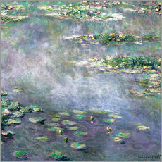 Gallery print  Water-Lily pond - Claude Monet