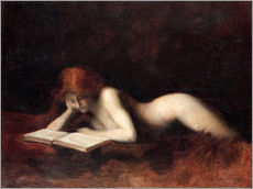 Gallery print  The Reader - Jean-Jacques Henner