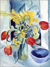 Wall sticker  Still life with tulips - August Macke