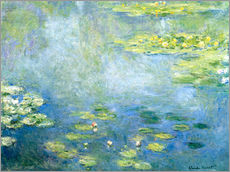 Gallery print  Lily pond - Claude Monet