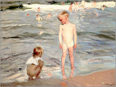 Wall sticker  Children on the beach of Valencia - Joaquin Sorolla y Bastida