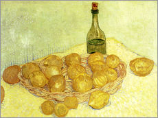 Wall Stickers  Still life with bottle, lemons and oranges - Vincent van Gogh