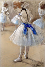 Gallery print  Dancer tying the loop - Edgar Degas