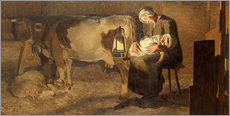 Gallery print  Two Mothers - Giovanni Segantini
