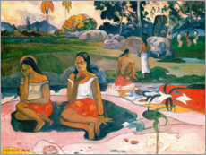 Wall Sticker  The wonderful source (NAVE NAVE MOE) - Paul Gauguin