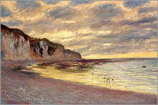 Wall sticker  Low tide at Pointe de L'Ailly - Claude Monet
