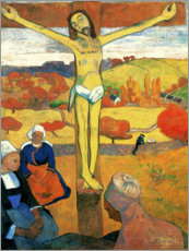 Canvas print  The Yellow Christ - Paul Gauguin