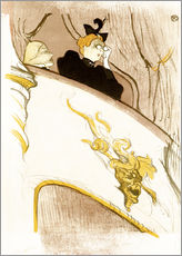 Gallery print  The Loge with the golden mask - Henri de Toulouse-Lautrec