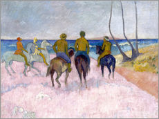 Wall sticker  Riders on the beach (I) - Paul Gauguin