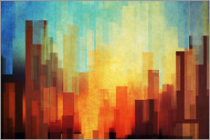 Gallery print  Urban Sunset - DejaReve