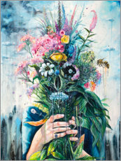 Gallery print  The Last Flowers - Tanya Shatseva