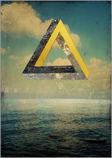 Gallery print  Penrose triangle - Dieter Ziegenfeuter