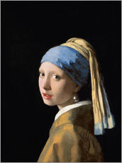 Wall sticker  Girl with the Pearl Earring - Jan Vermeer