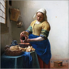 Gallery print  The Milkmaid - Jan Vermeer