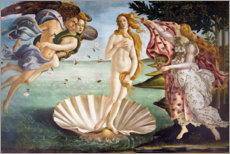 Aluminium print  The Birth of Venus - Sandro Botticelli