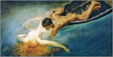 Gallery Print  The siren - Giulio Aristide Sartorio