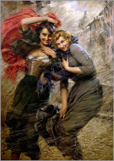 Wall sticker  A Windy Day - Gaetano Bellei