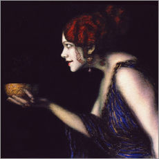 Gallery print  Tilla Durieux as Circe - Franz von Stuck