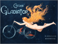 Gallery print  Cycles Gladiator - Georges Massias