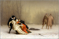 Wall sticker  The Duel After the Masquerade - Jean Leon Gerome