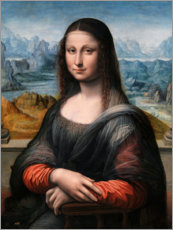 Premium poster Mona Lisa from the Prado
