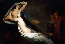 Gallery Print  Francesca and Paolo - Ary Scheffer