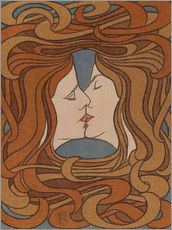 Gallery Print  The Kiss - Peter Behrens