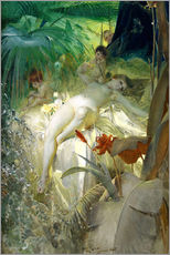 Gallery print  Love nymph - Anders Leonard Zorn