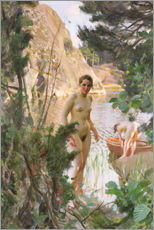 Wall sticker  Dinghies - Anders Leonard Zorn