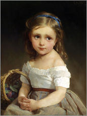 Gallery Print  Girl with plums Basket - Emile Munier