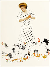 Wall sticker  Corn Exchange - Clarence Coles Phillips