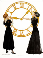 Wall sticker  Forward and back - Clarence Coles Phillips